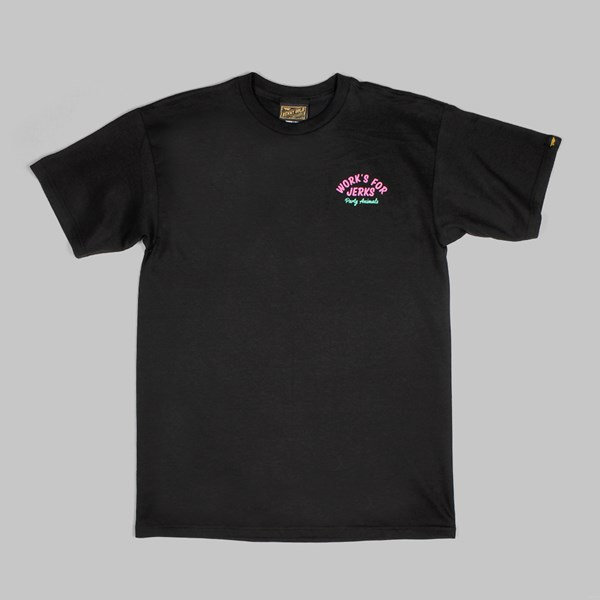 BENNY GOLD PARTY ANIMAL TEE BLACK