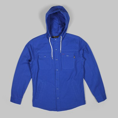 BENNY GOLD SMITH HOOD JACKET INDIGO