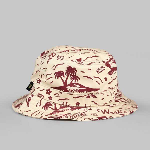 BENNY GOLD TROPICS ALLOVER BUCKET CREAM