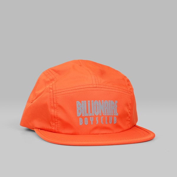 BILLIONAIRE BOYS CLUB 5 PANEL STRAIGHT LOGO CAP ORANGE ... a68baddd65ff