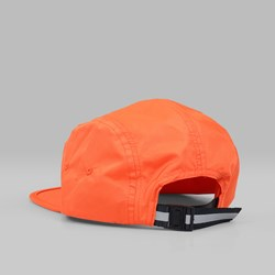 BILLIONAIRE BOYS CLUB 5 PANEL STRAIGHT LOGO CAP ORANGE