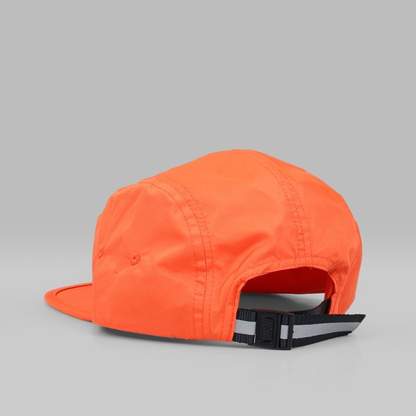 BILLIONAIRE BOYS CLUB 5 PANEL STRAIGHT LOGO CAP ORANGE  536787a91a90