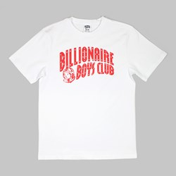 BILLIONAIRE BOYS CLUB ARCH LOGO TEE WHITE