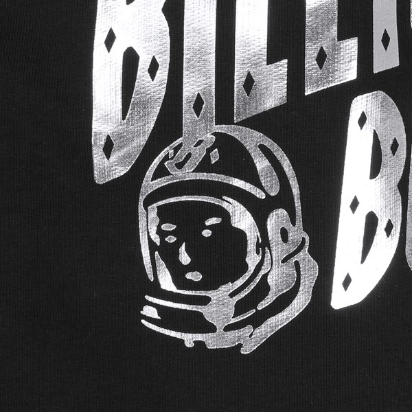 BILLIONAIRE BOYS CLUB ARCH LOGO ZIP HOOD BLACK SILVER