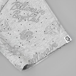 BILLIONAIRE BOYS CLUB GALAXY AO PRINT TEE GREY