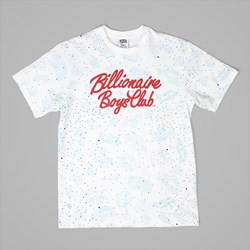 BILLIONAIRE BOYS CLUB GALAXY AO PRINT TEE WHITE