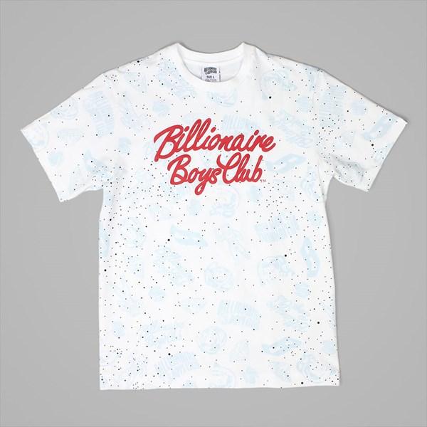 141f1dde7671 BILLIONAIRE BOYS CLUB GALAXY AO PRINT TEE WHITE ...