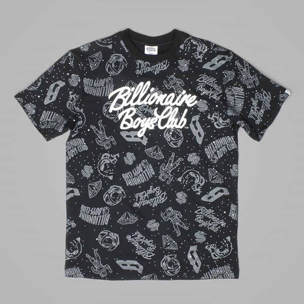 BILLIONAIRE BOYS CLUB GALAXY AO TEE BLACK