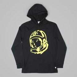 BILLIONAIRE BOYS CLUB HELMET LS HOODED TEE BLACK