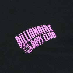 BILLIONAIRE BOYS CLUB HELMET PRINT LS TEE BLACK