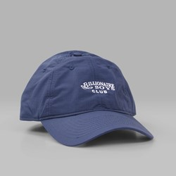 BILLIONAIRE BOYS CLUB NYLON CURVED VISOR CAP NAVY
