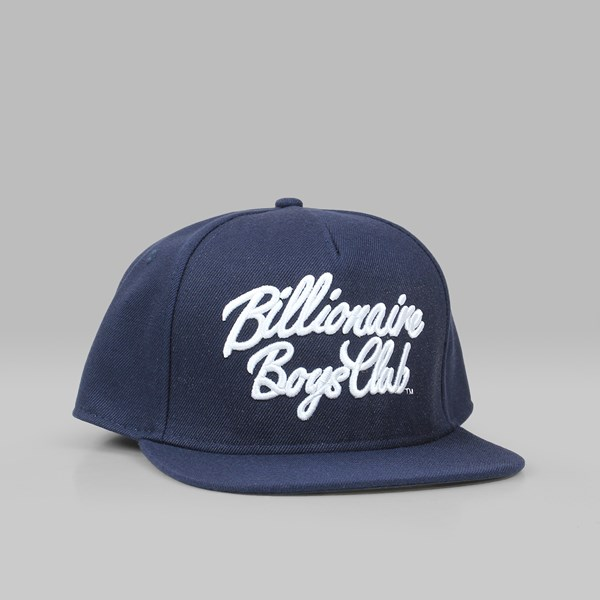 ... canada billionaire boys club script logo snapback cap navy c0f82 c03a6  ... c65ddf7184dd