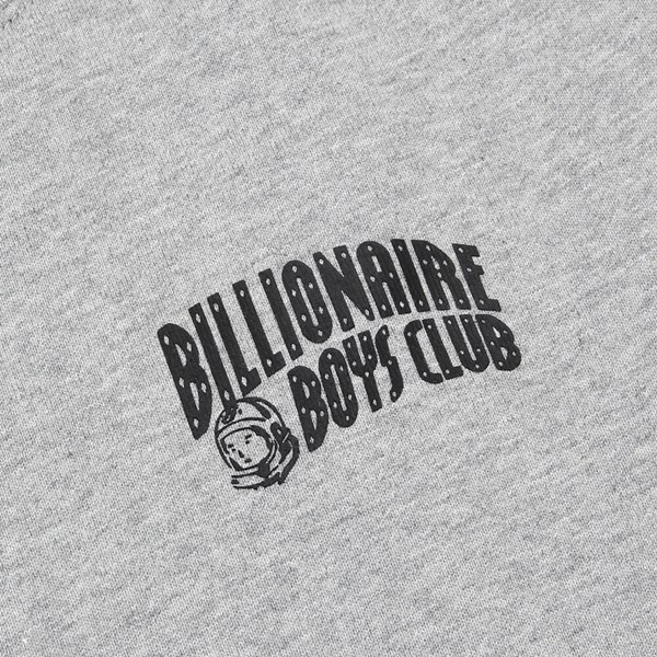BILLIONAIRE BOYS CLUB SMALL ARCH LOGO CREW GREY