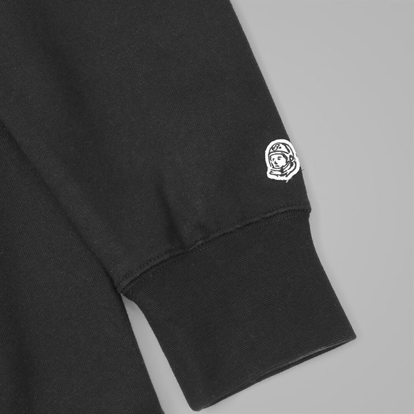 BILLIONAIRE BOYS CLUB SMALL ARCH LOGO HOOD BLACK