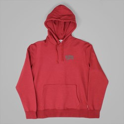 BILLIONAIRE BOYS CLUB SMALL ARCH LOGO HOOD BURGUNDY