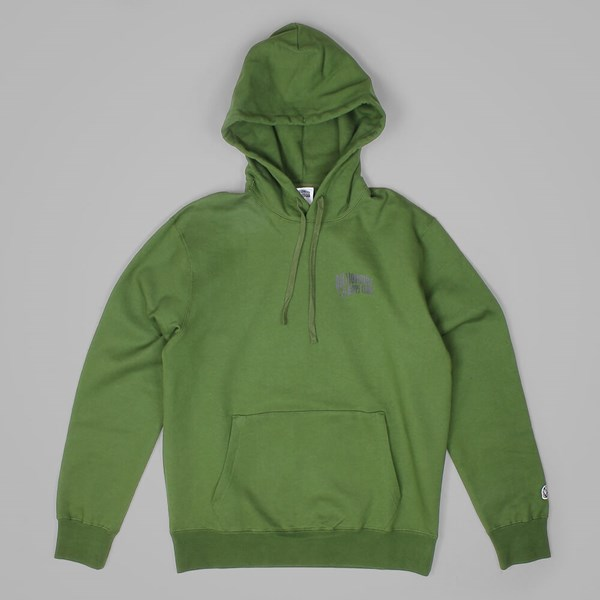 BILLIONAIRE BOYS CLUB SMALL ARCH LOGO HOOD OLIVE