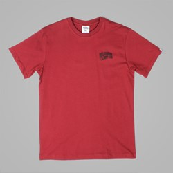 BILLIONAIRE BOYS CLUB SMALL ARCH LOGO TEE BURGUNDY