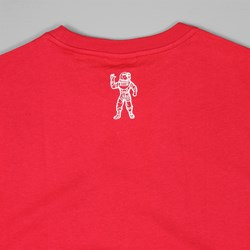 BILLIONAIRE BOYS CLUB SMALL ARCH LOGO TEE RED
