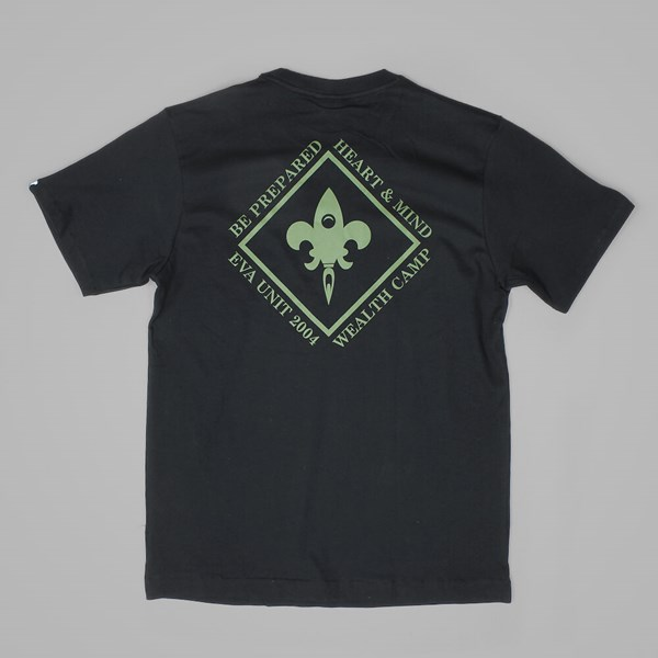 BILLIONAIRE BOYS CLUB WEALTH CAMP TEE BLACK