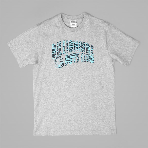 BILLIONAIRE BOYS CLUB ZEBRA CAMO ARCH TEE GREY
