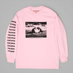 BOW3RY BURIED PREMIUM LONG SLEEVE TEE PINK