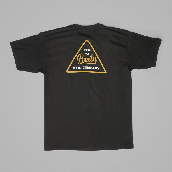 BRIXTON CUE T SHIRT BLACK