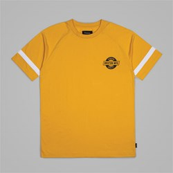 BRIXTON NEWELL SS KNIT T-SHIRT YELLOW