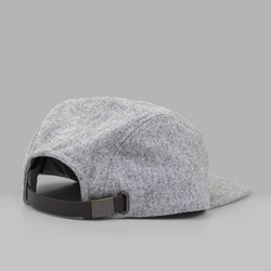 BRIXTON QUINT 5 PANEL CAP LIGHT HEATHER GREY