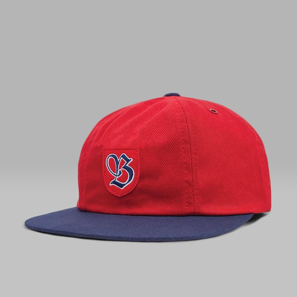 BRIXTON SNIDER CAP RED NAVY