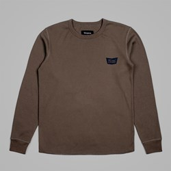BRIXTON STITH LS KNIT GRAPHITE