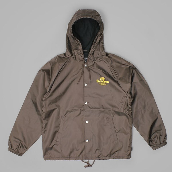 BRIXTON TANKA JACKET BROWN