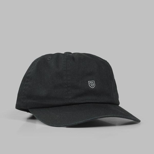 BRIXTON  UNION  B SHIELD CAP BLACK  03fbf1769b9