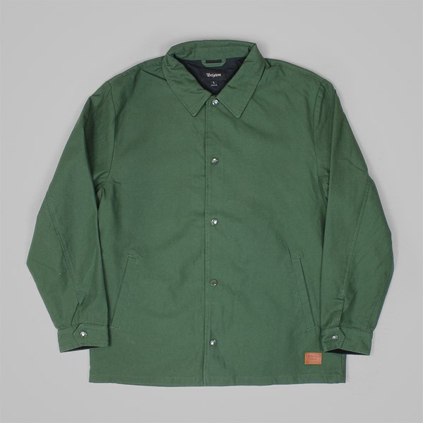 BRIXTON WRIGHT JACKET FOREST GREEN