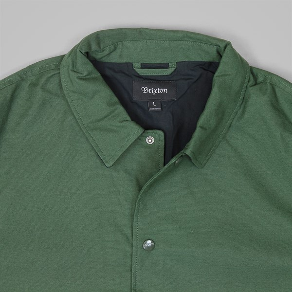 3add6a78fc4 BRIXTON WRIGHT JACKET FOREST GREEN | Brixton Jackets