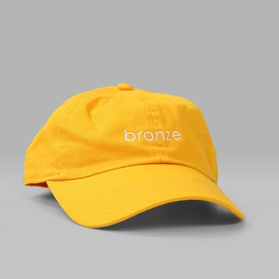 BRONZE 56K BRONZE DAD CAP GOLD