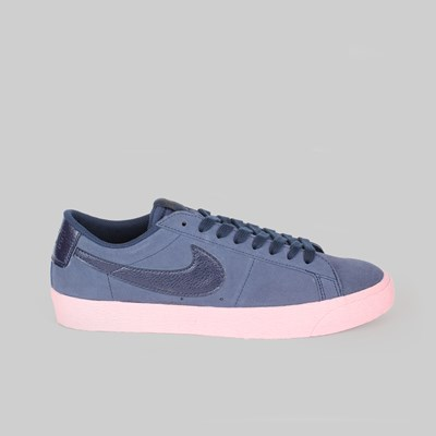 NIKE SB ZOOM BLAZER LOW 'BUBBLEGUM PACK' OBSIDIAN