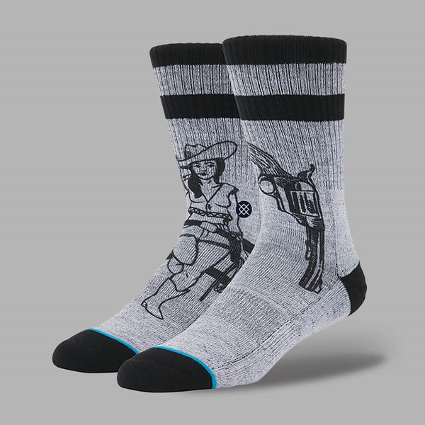 STANCE BUSHLEAGUE SOCKS GREY
