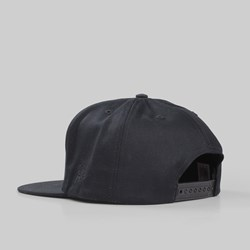 BY PARRA '1987' 5 PANEL SNAPBACK CAP BLACK