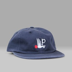 BY PARRA 6 PANEL BIRD P HAT NAVY BLUE