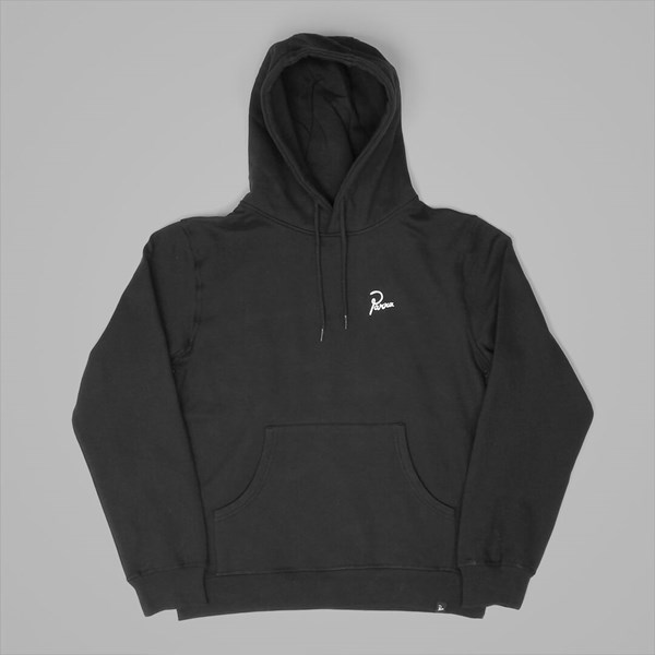 BY PARRA ALONE HOODED SWEAT BLACK