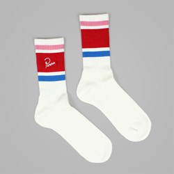 BY PARRA CREW SOCKS WHITE