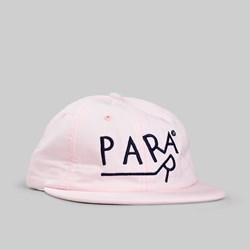 BY PARRA DRAGGING 6 PANEL CAP PINK