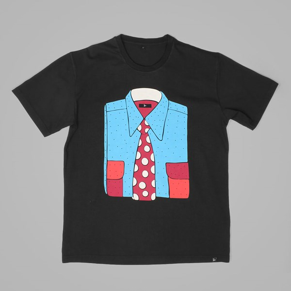 BY PARRA FORMAL T SHIRT BLACK