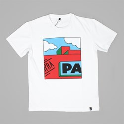 BY PARRA GARAGE SHORT SLEEVE T-SHIRT WHITE