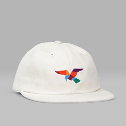BY PARRA HAT BIRD 6 PANEL CAP NATURAL
