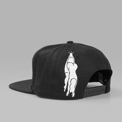 BY PARRA KING 6 PANEL HAT BLACK