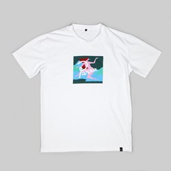 BY PARRA LAGOON SS T-SHIRT WHITE