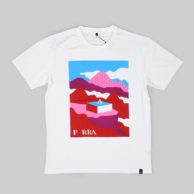 BY PARRA LOST CITY SS T-SHIRT WHITE