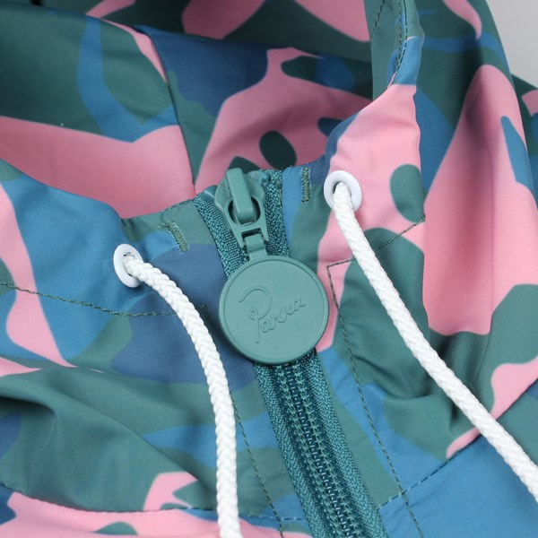BY PARRA MUSICAL CHAIRS WINDBREAKER JACKET GREEN