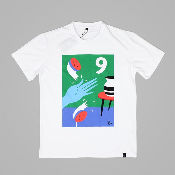 BY PARRA NEIN SS T-SHIRT WHITE